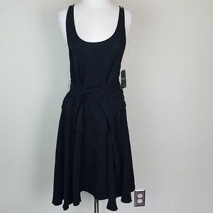 Derek Lam IOC Athleta Nolita black dress S